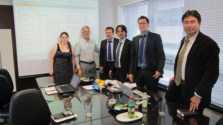 Reunión en la Câmara Brasileira de Comércio Eletrônico