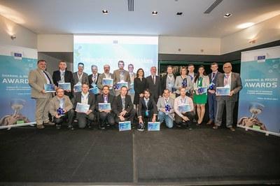 Entrega de premios Europeos Sharing and reuse 2018