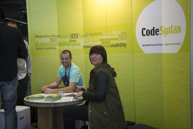 CodeSyntax - Librecon 2014 stand